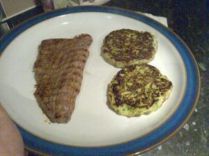 zucc and steak