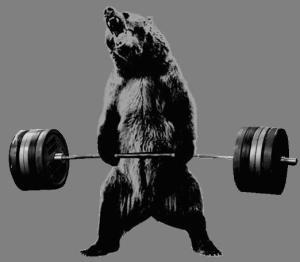 bear deadlifts