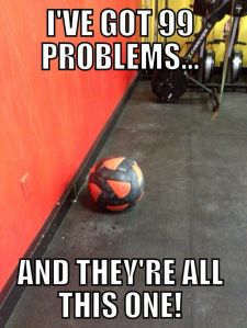 wall ball problems